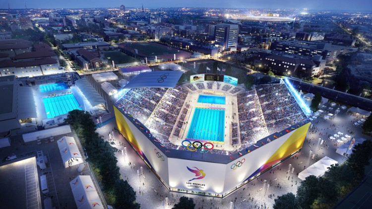 Los angeles 2024 se d voile en images for Piscine reims